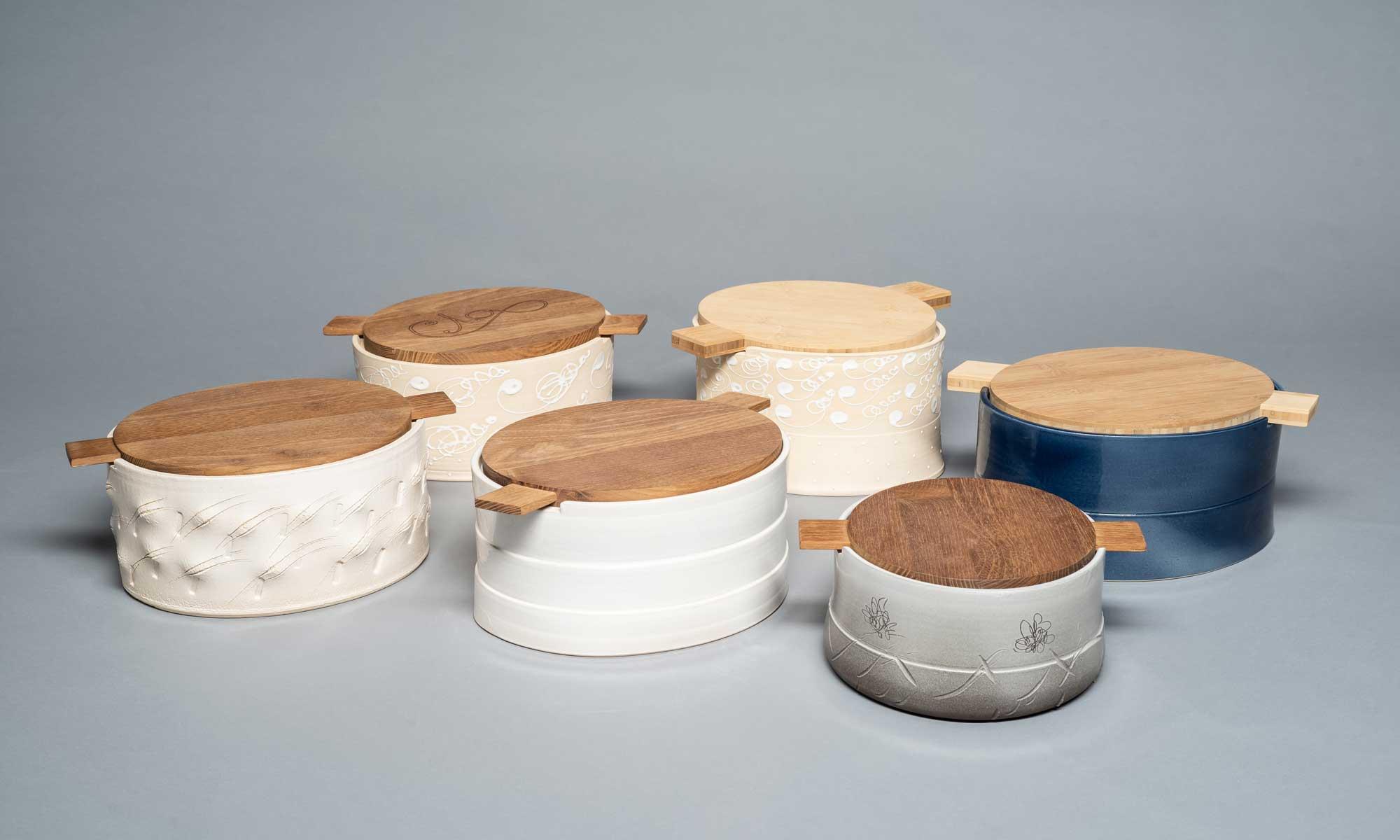 Brotdose, Renate Mehlmauer, Keramik, Kunst, Künstlerin